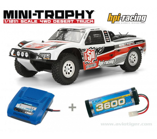 Mini Trophy 4WD RTR HPI-Racing  Pack A - HPI-8700103035A