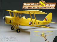 Micro Tiger-Moth PNP Art-Tech Version Rouge - ART-21442-R