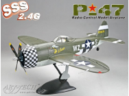 Mini P-47 Classe 200 Art-Tech PNP - ART-21463