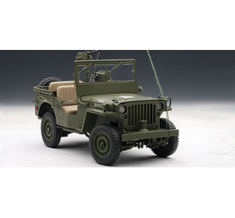 Jeep Willys AutoArt 1/18 - T2M-A74006