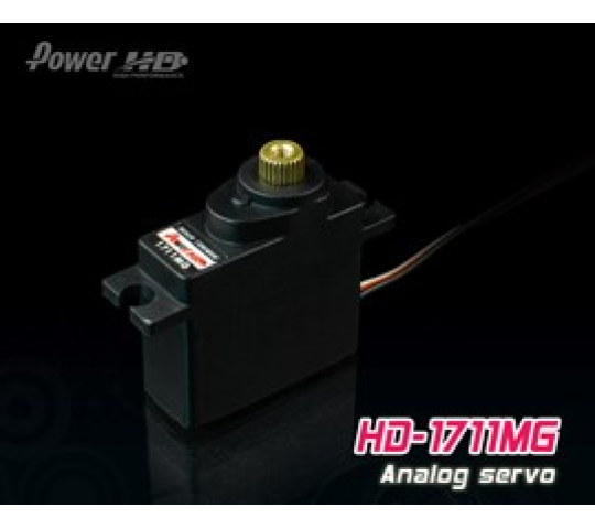 Servo HD 1711MG (3.5kg/0.11sec) pignons metal - HD-1711MG