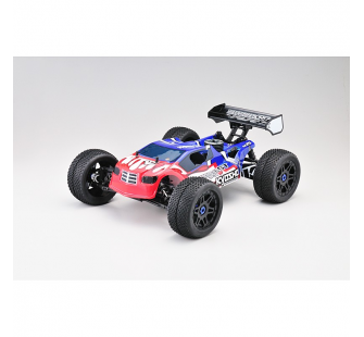 INFERNO NEO ST RACE READYSET T2 Truggy 2.4Ghz Rouge/Bleu - KYO-31683T2