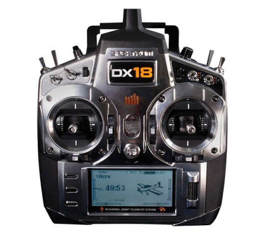 Spektrum DX18 + AR9020 Mode 1 - SPK-SPM180001EU
