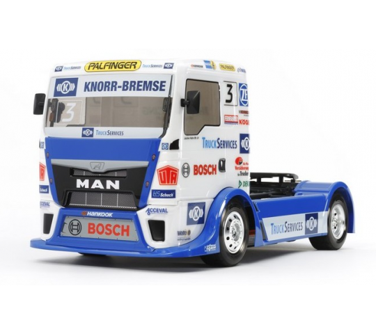 Camion MAN TGS Team Hahn Racing Tamiya - 58632