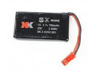 Lipo 1S 780mAh 3.7V X250 XK Innovation - XKX250-001