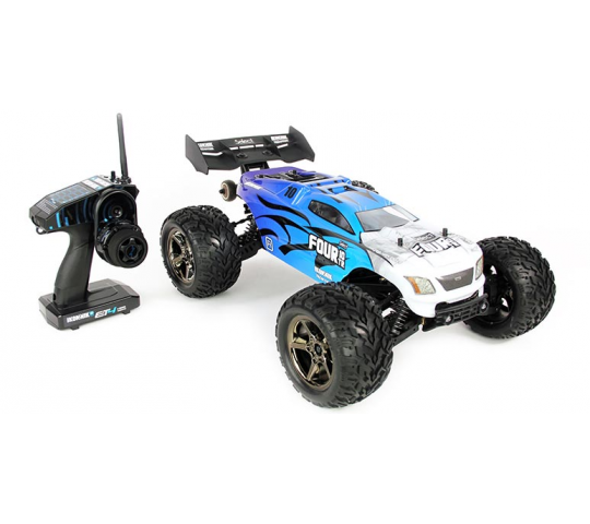 Four 10TR 4WD Brushless Truggy 1/10e Helion - HLNS1200
