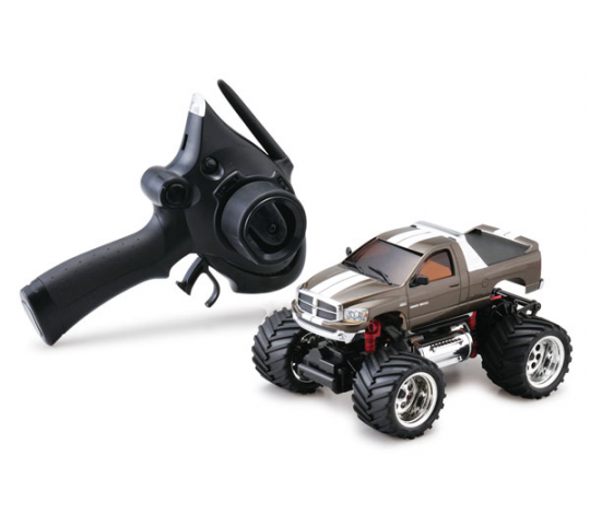 Mini-z Monster EX DODGE RAM 1500 Gun Metallic (ASF 2.4 Ghz) - KYO-K.30091GM