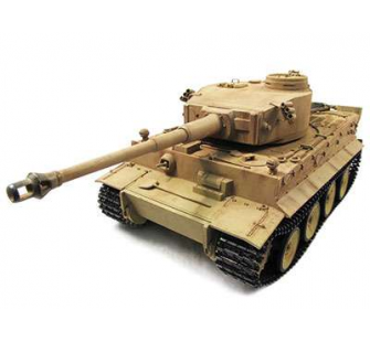 Panzer 1/16 Tiger I DESERT FULL METAL & EFFETS SONORES & FINITION MAQUETTE - 23078