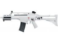 REPLIQUE AEG G36C IDZ H&K WHITE EDITION BLOWBACK 0,5J - UMAREX - EUR-LK2219