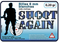 BILLES SHOOT AGAIN 0.25GR CARTON DE 25KG - EUR-BB5425