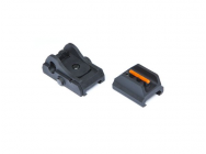 Front et rear sight Scorpion Evo 3 A1 - asg - A61722