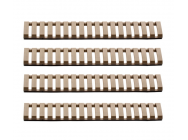 Lot de 4 Cache rail Tan - G&G - EUR-A68028