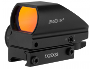 POINT ROUGE LENSOLUX REDDOT SIGHT 1X22X33 RETICULE INTERCHANGEABLE - EUR-OP0171