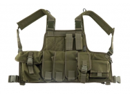 Gilet chest rigg Molle od - asg - A61615