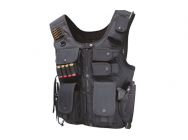 Gilet tactique Noir Swat law enforcement - A67142