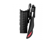 HOLSTER RETENTION PRO ROTO + PADDLE POUR S19 DROITIER - BO MANUFACTURE  - EUR-GE15100