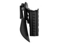 HOLSTER RETENTION PRO ROTO + PADDLE POUR S19 GAUCHE - BO MANUFACTURE  - EUR-GE15105