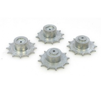 USM41A3 WALKER METAL DRIVE WHEELS (PAIR) - JP-4401003
