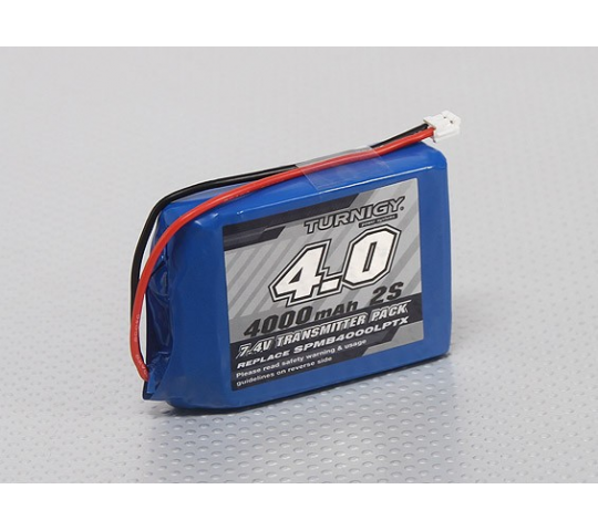 Turnigy 4000mah Spektrum DX8 Intelligent Transmitter Pack - CHI-T4000.2S.DX8