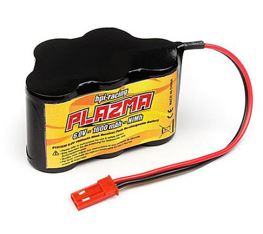 Plazma 6,0V 1600mah Receiver Pack - HPI- 101936