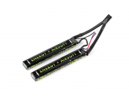 Batterie LIPO 7,4V 2900mAh 25C double stick SOLO13 - ENERGY AIRSOFT  - EUR-A63121