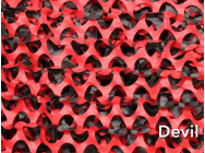 FILET DE CAMOUFLAGE 40 M X 2,4 M ROUGE DEVIL  - EUR-A53426