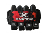 Harnais Empire compressor rouge 4 plus 7 - VE5514