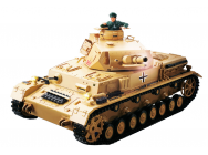 Char RC Panzer IV F1 Africacorps Son Fumee 2.4GHZ QC Edition - 23065