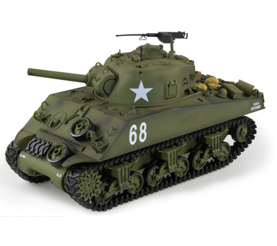 U.S. M4A3 Sherman 1/16 Sons Fumee 2.4Ghz QC Edition - 23073