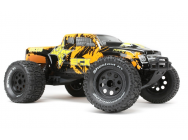 ECX Ruckus Monster Truck 1/10 2WD RTR Noir/Orange - ECX03131IT2