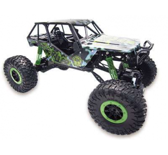 crazy crawler green 4wd rtr 1 10 rock crawler 22217. Black Bedroom Furniture Sets. Home Design Ideas