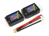 Lipo Saddle Pack 2S 7.4V 4500mAh 50C VOLTZ - VZ0313