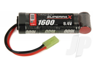 Superpax Battery NiMH 8.4V 1600mAh 2/3A Stick, mTam  - RDNA0138