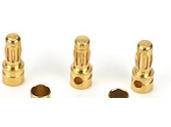 Bullet Connectors, 3.5mm Male (3) - RDNA0270
