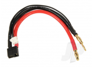 Charge Adapter, 4mm Bullet to Dean (TPlug - HCT)  M - RDNA0337