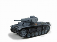 1:16 German Panzer III (2.4GHz+Shooter+Smoke+Sound) - 4400704