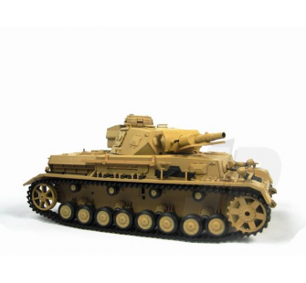 1:16 German Panzer IV F1 Tank (2.4GHz+Shooter+Smoke+Sound) - 4400706