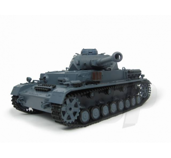 1:16 German Panzer IV F2 Tank (2.4GHz+Shooter+Smoke+Sound) - 4400707
