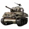 1:16 US M4A3 Sherman (2.4GHz+Shooter+Smoke+Sound) - 4400712