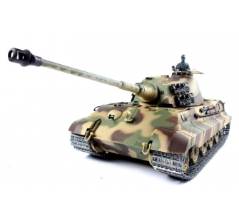 1:16 German King Tiger Henschel (2.4GHz+Shooter+Smoke+Sound) - 4400714