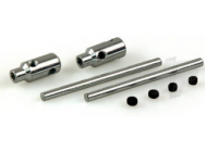 DB615 Adjust Axle Shafts 51 x 4mm (2pcs) - 5513540