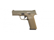 Replique pistolet GBB black leopard eyes alpha tan - ics - PG5010