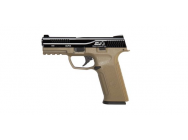 Replique pistolet GBB black leopard eyes alpha tan culasse Noir - ics - PG5030