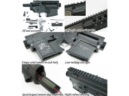 Corps metal M4 sr-16 kit complet - King Arms - A60523
