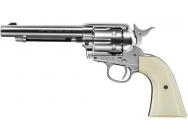 Revolver Colt simple action army 45 nickel - 4. 5 mm diabolos - ACR247