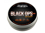 Plombs Black Ops Sharp - tete pointue - cal 4. 5 boite de 500 - PB300