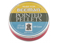 Boite de 500 plombs 4. 5 mm tetes pointues beeman - PB801