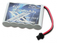 Batterie NIMH 6V 700mAh Buggy AMX Racing 1:14 / 1:18 - 28904