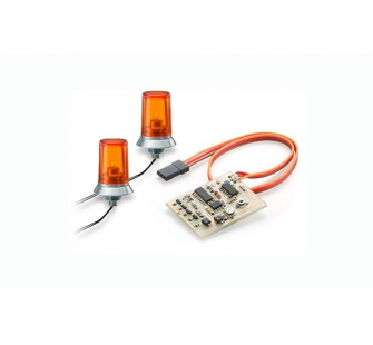 Kit gyrophare orange Echelle : 1/14 - T2M-C500907125