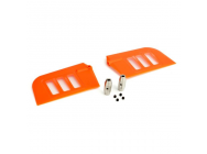 Flybar Paddle Set, Orange: B500 3D - BLH1828OR